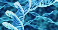"""Hi-res render of DNA double helix"" via Shutterstock"